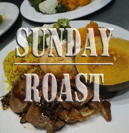 Sunday Roast or Sunday Fish Braai